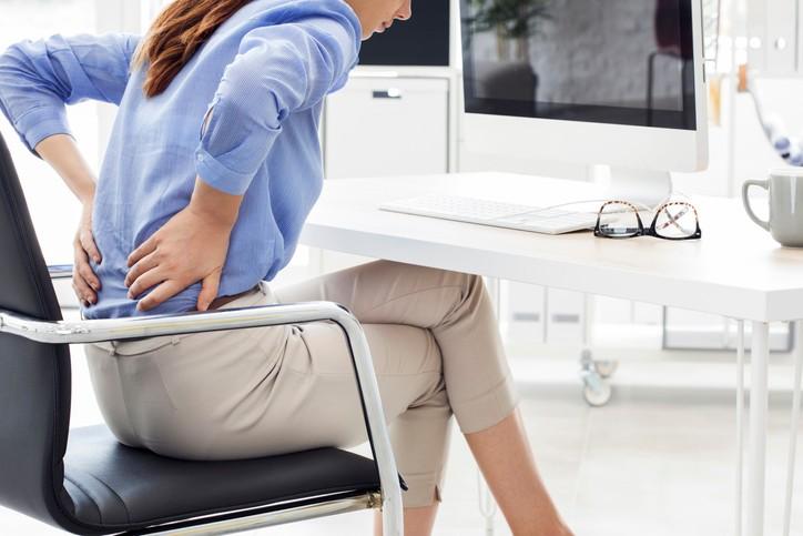 Dolor de Espalda en la Oficina