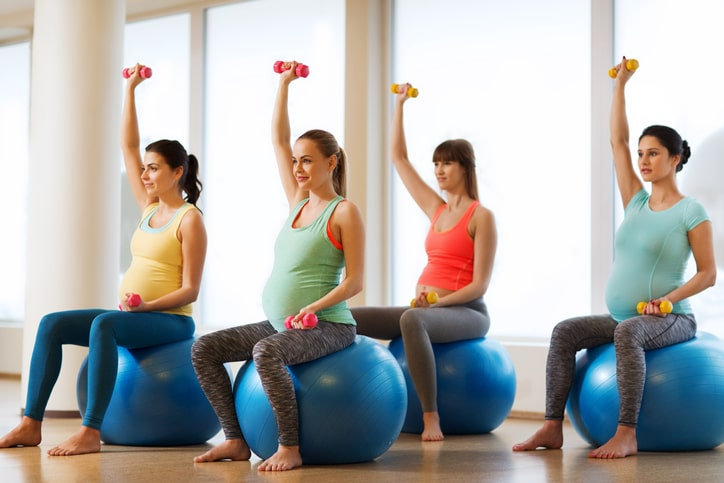 Taller Pilates Embarazadas