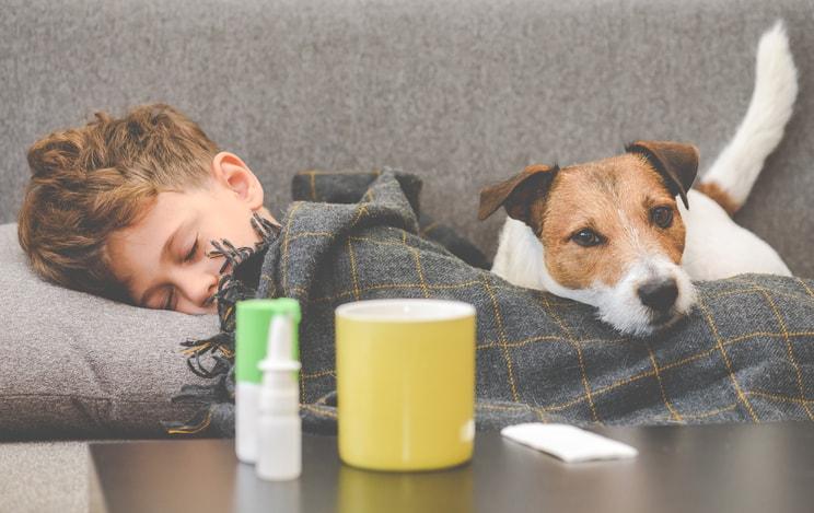 Gripe en niños: síntomas y tratamientos