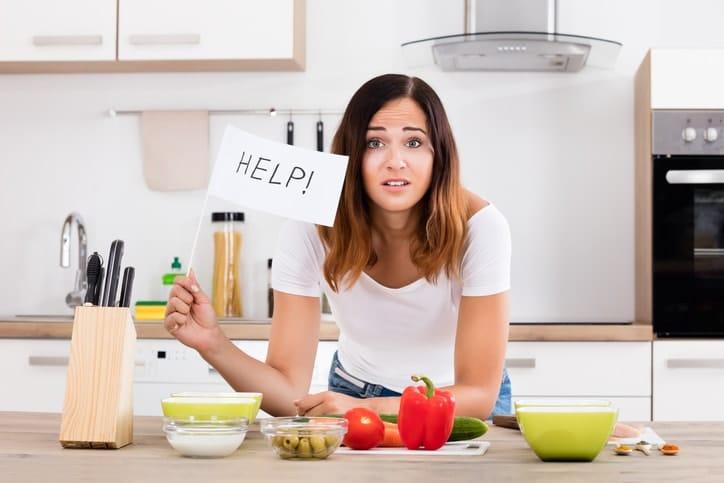 ¿Porque no pierdo peso cuando estoy a dieta?