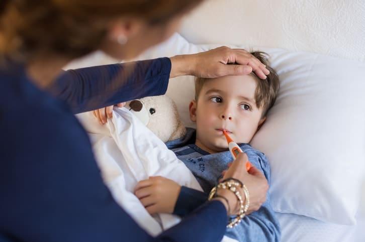 Los niños y los medicamentos antivirales contra la gripe.