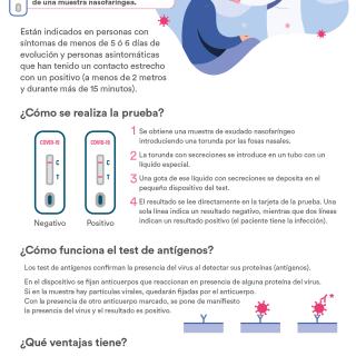 Infografía Test Antígenos
