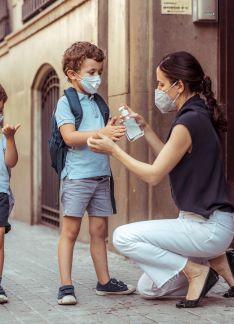 Efectos sobre la salud del uso de mascarillas y gel hidroalcohólico